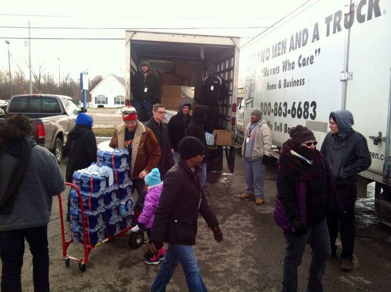 Unloading Trucks